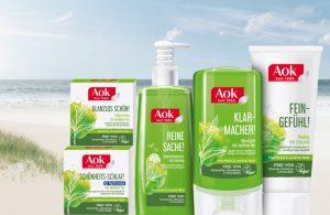 AOK Seit 1885 - AOK Kosmetik